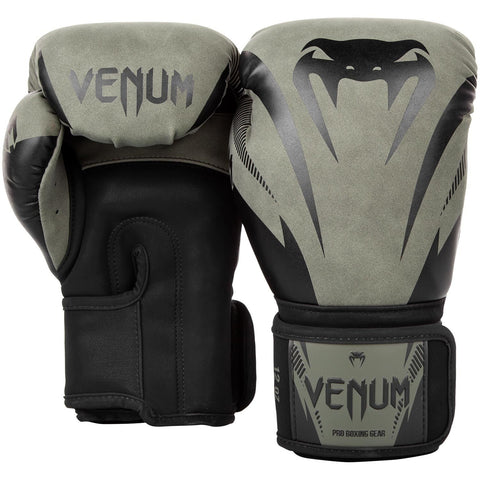 Venum Impact Boxing Gloves Khaki/Black