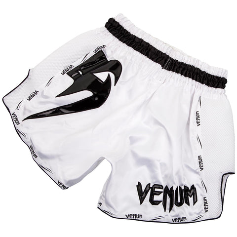 Venum Giant Muay Thai Shorts White/Black