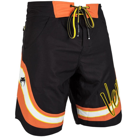 Venum Cutback Board Shorts Black/Yellow