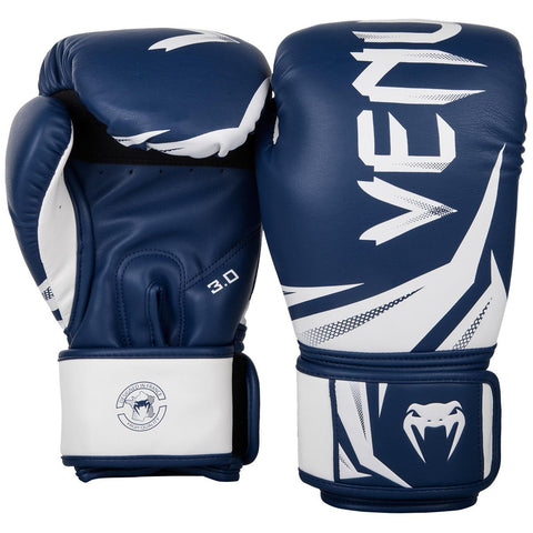 Venum Challenger 3.0 Boxing Gloves Navy/White
