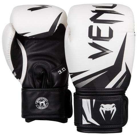 Venum Challenger 3.0 Boxing Gloves White/Black