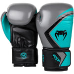 Venum Contender 2.0 Boxing Gloves Grey/Turquoise