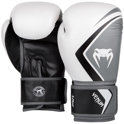 Venum Contender 2.0 Boxing Gloves White/Grey