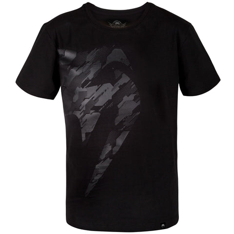 Venum Tecmo Giant Kids T-Shirt Black/Black