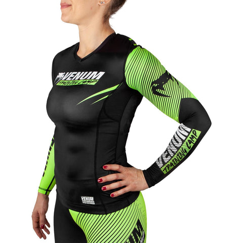 Venum Training Camp 2.0 Ladies Long Sleeve Rash Guard