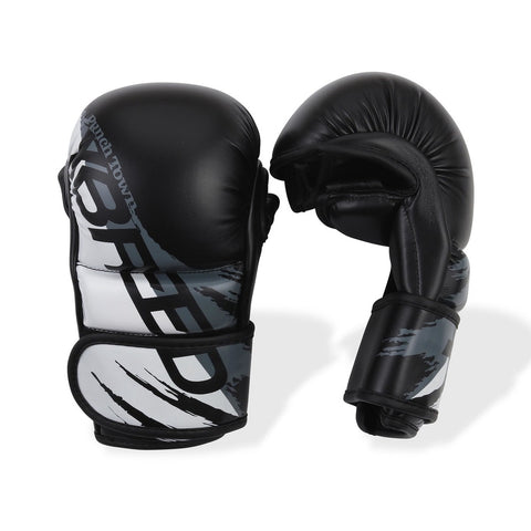 PunchTown xBreed KR Hybrid Gloves Black/White