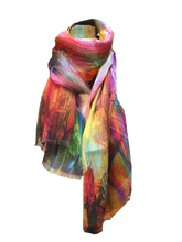 Load image into Gallery viewer, MODERN TIMES CASHMERE MODAL SCARF