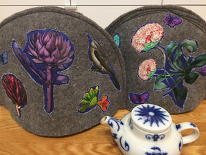 HOMEWARE FELT TEA COZIES-To Warm Your Heart