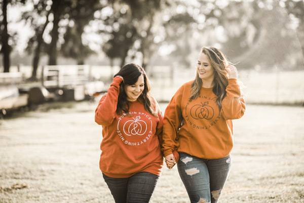 Pumpkin Spice Everything Nice Sweatshirt