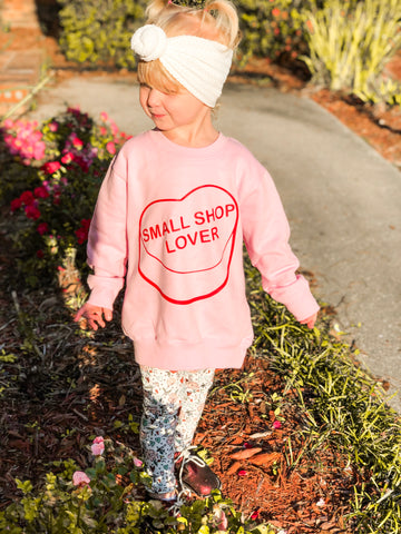 Small Shop Lover Sweatshirt