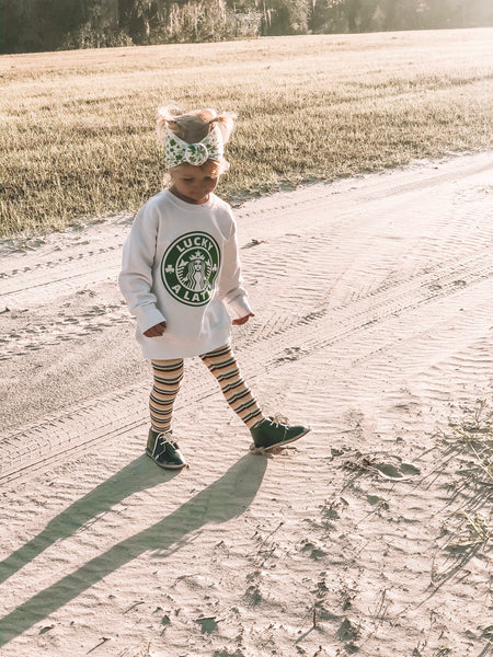 Lucky A Latte Toddler/Youth Sweatshirt