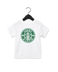 Lucky A Latte Infant/Toddler/Youth/Adult T-Shirt