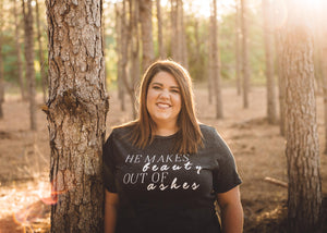 He Makes Beauty Out Of Ashes Women's Relaxed T-Shirt