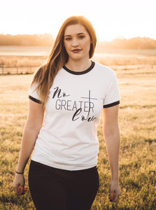 SALE Greater IS HE // Women's Christian Graphic Tee, Christian Shirts, Shine, Cross, Faith Tshirt, Christian T shirts, Child Of God Shirt