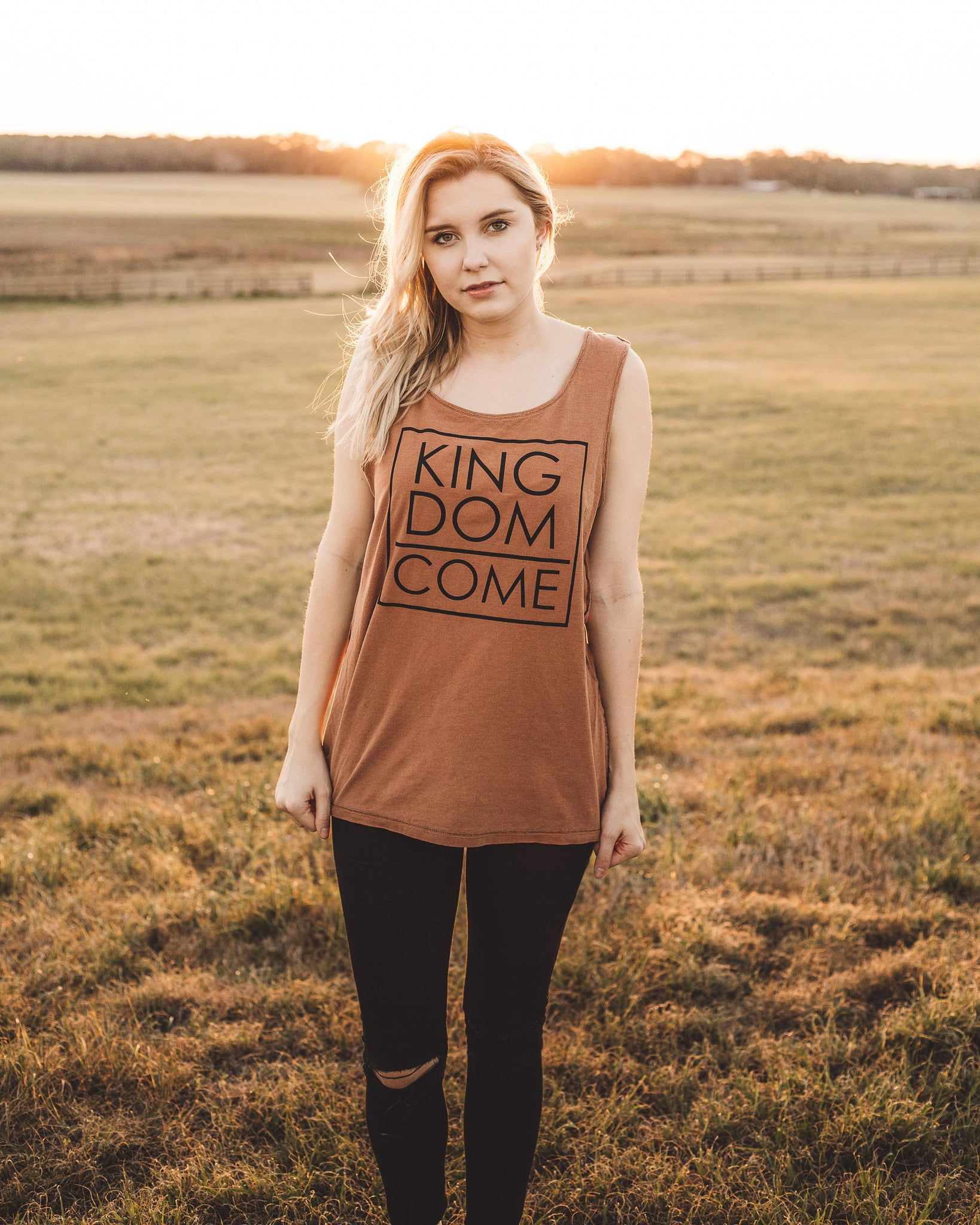 Unisex Christian Graphic Tee, Christian Shirts, Christian T Shirts, Christian gifts, Kingdom come shirt, Christian tanks, Thy Kingdom Come