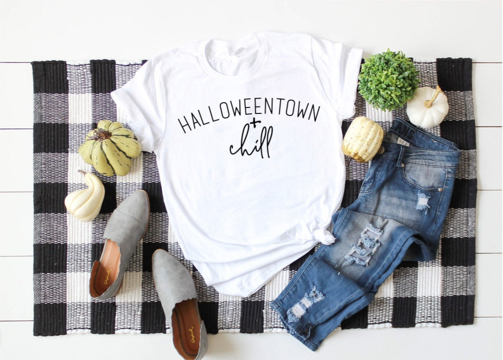 Halloweentown + Chill Unisex Short Sleeve T-shirt