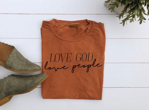 Love God Love People Unisex T-Shirt