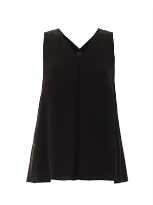 Theory Sleeveless Silk Top
