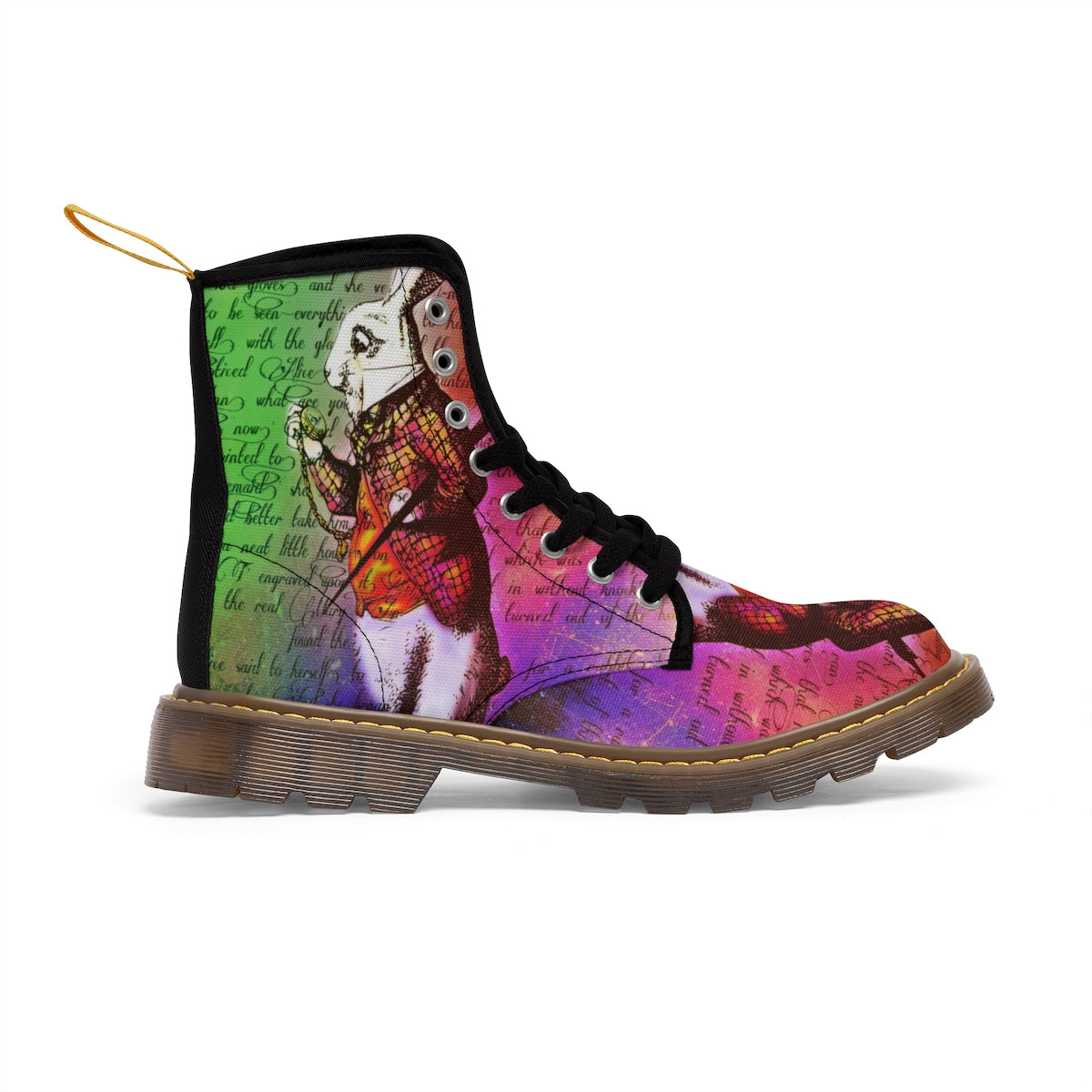 White Rabbit Men's Canvas Boots-Starry Meadows