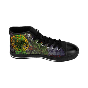 Cult of Cthulhu Men's Sneakers-Starry Meadows