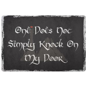 One Does Not Simply Doormat-Starry Meadows