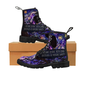 Starry Raven Women's Martin Boots-Starry Meadows