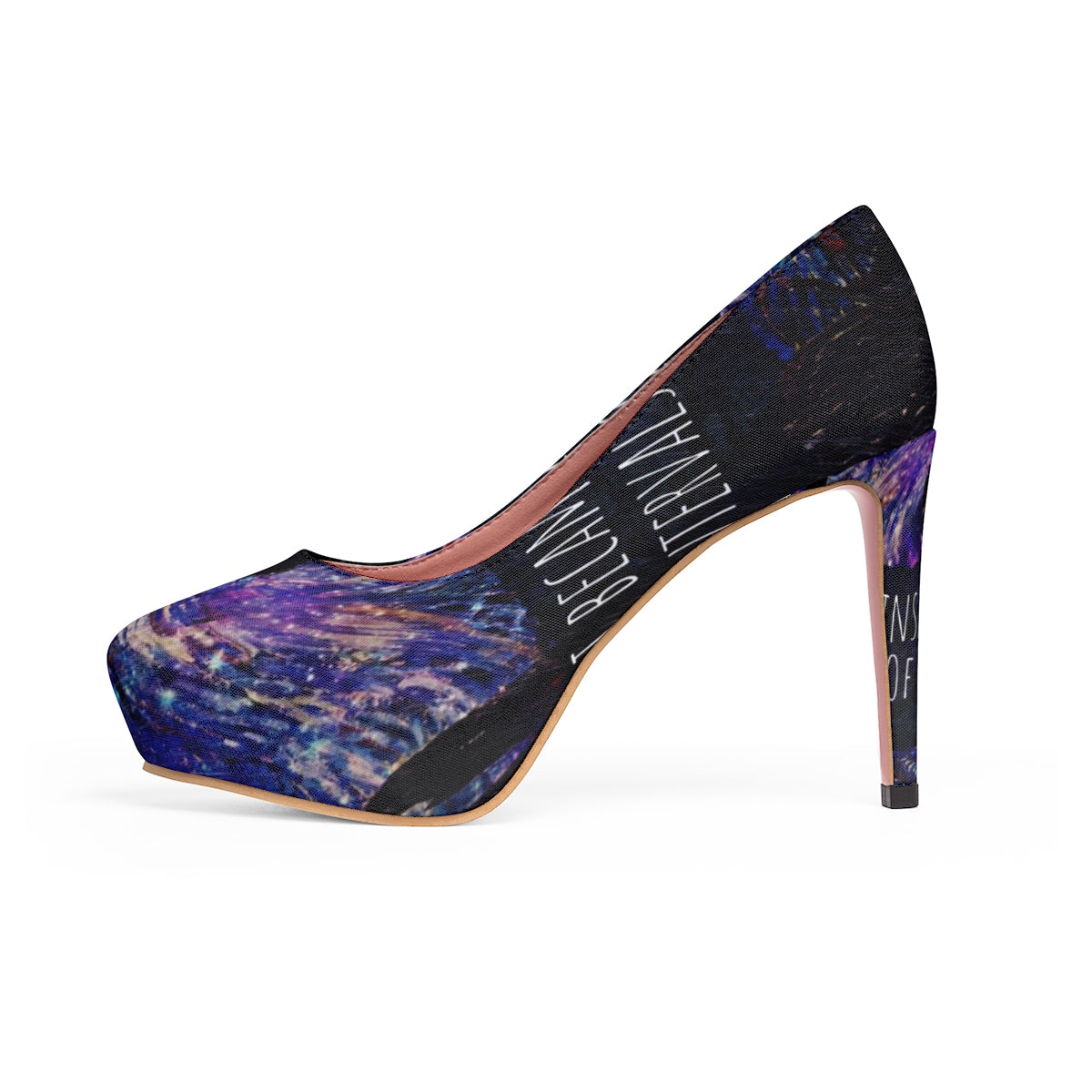 Insane Raven Stiletto Pumps-Starry Meadows