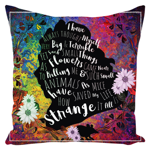 Cowardly Lion Throw Pillow-Starry Meadows