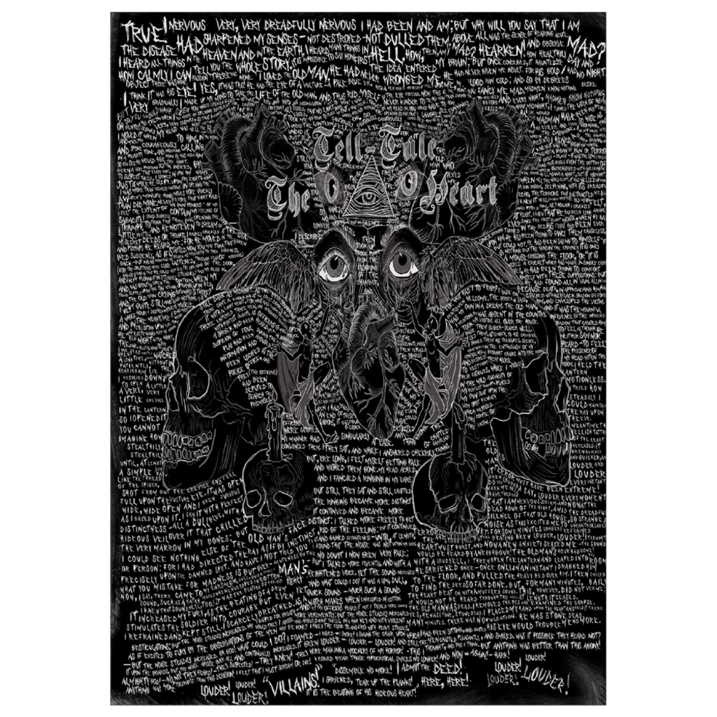 The Tell-Tale Heart Art Print