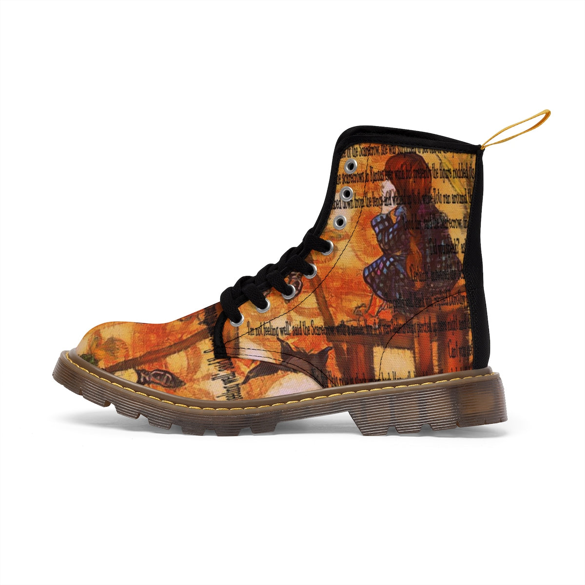 Wizard of Oz Women's Canvas Boots-Starry Meadows