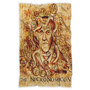Lovecraft Necronomicon Sherpa Blanket-Starry Meadows