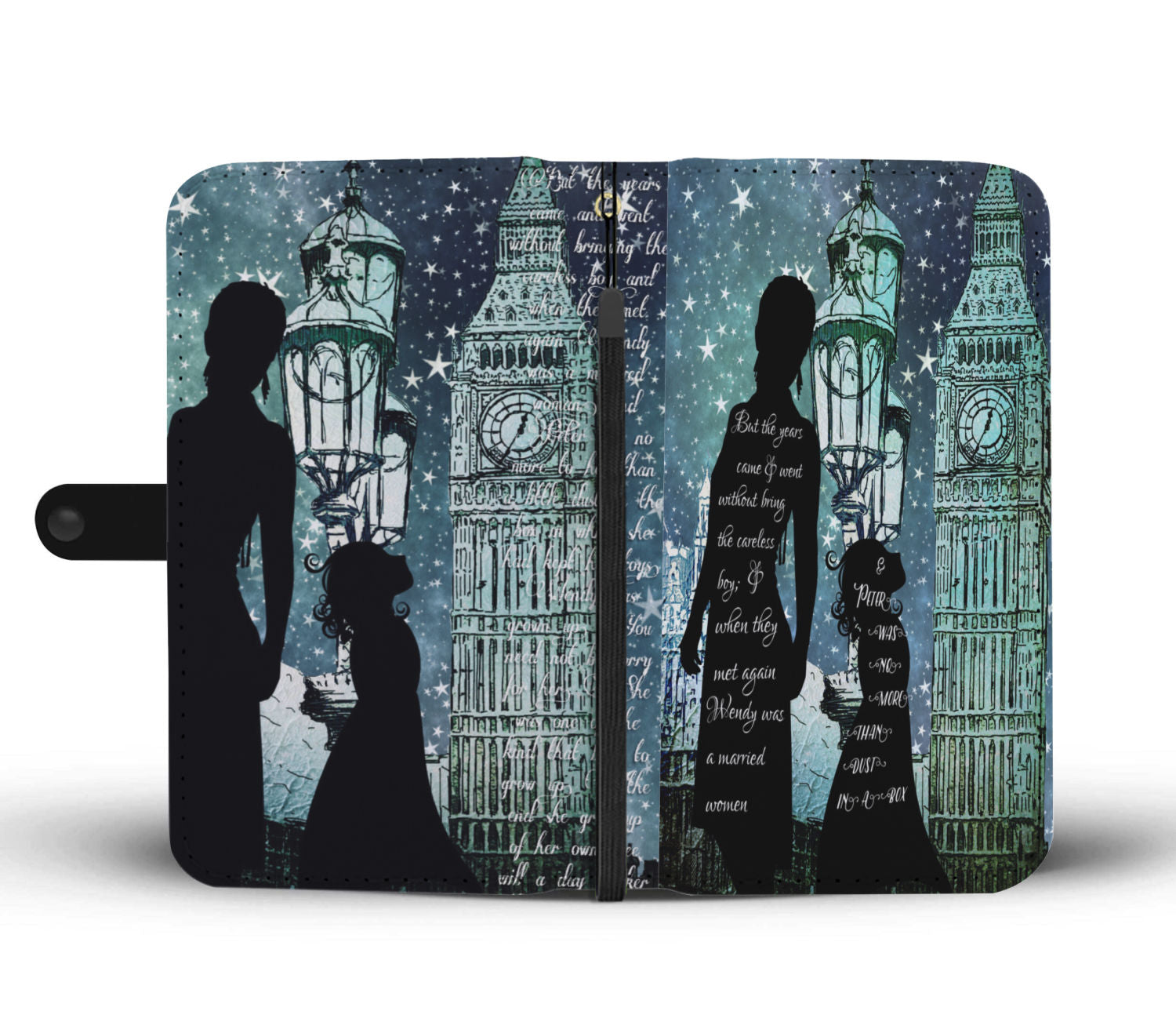 Peter Pan Wendy Grew Up Phone Wallet-Starry Meadows