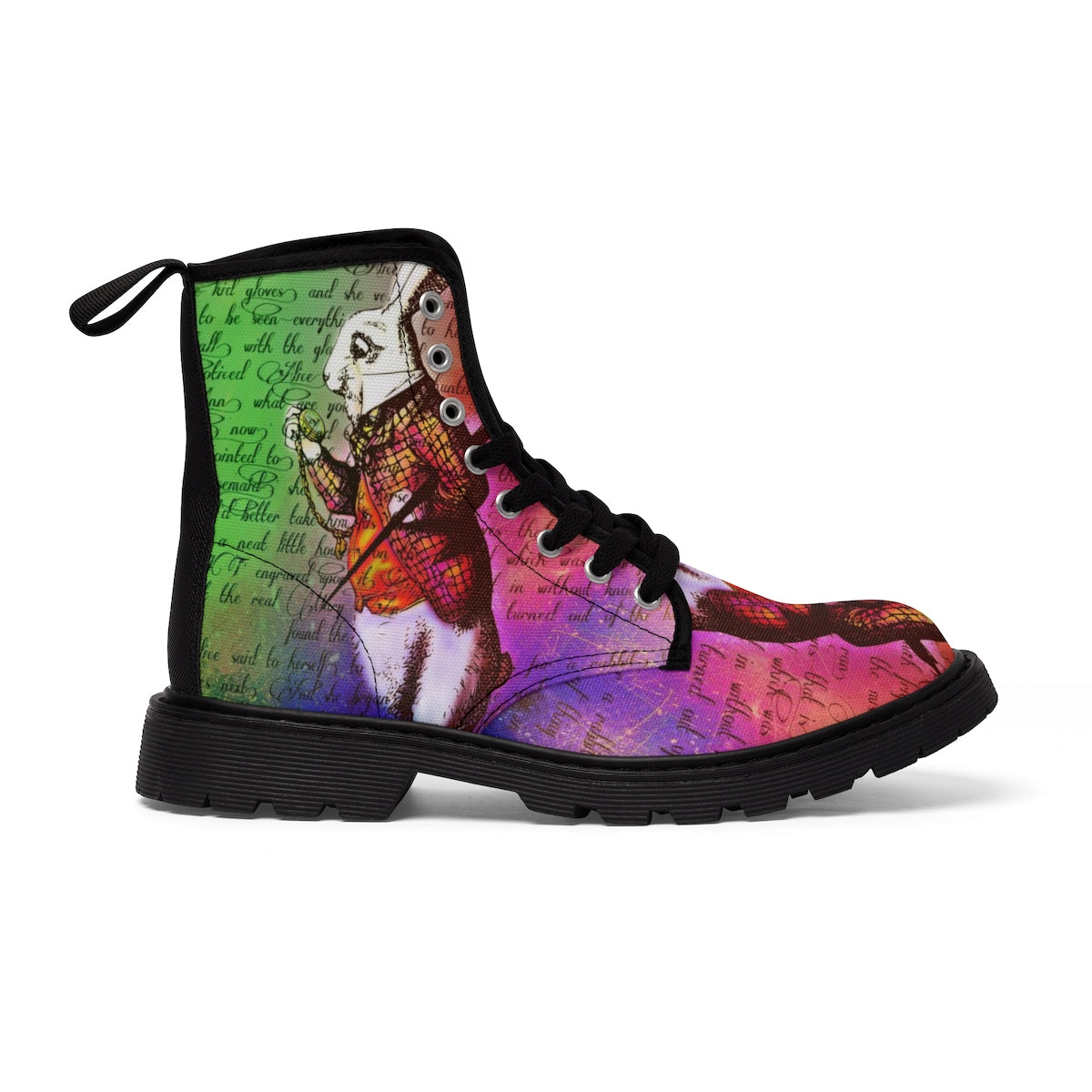 White Rabbit Women's Canvas Boots-Starry Meadows