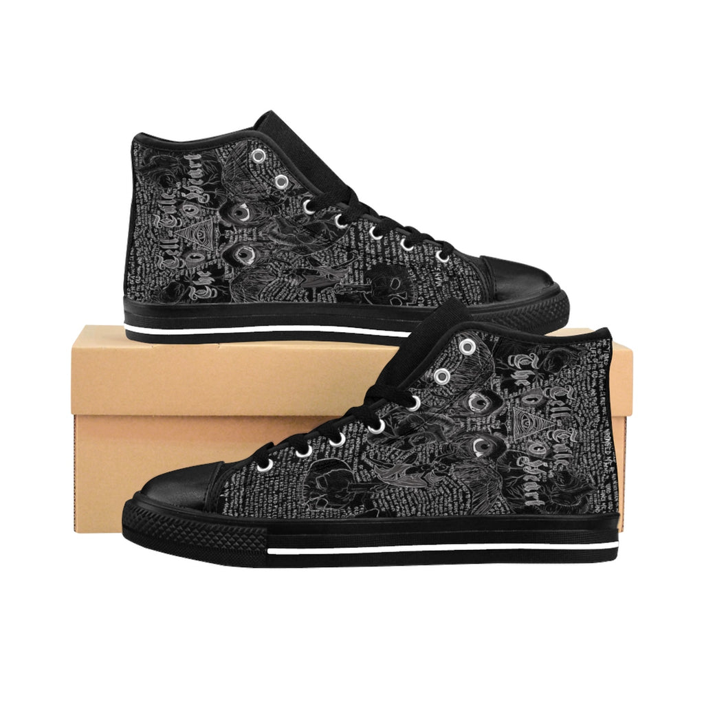 The Tell-Tale Heart Men's Sneakers