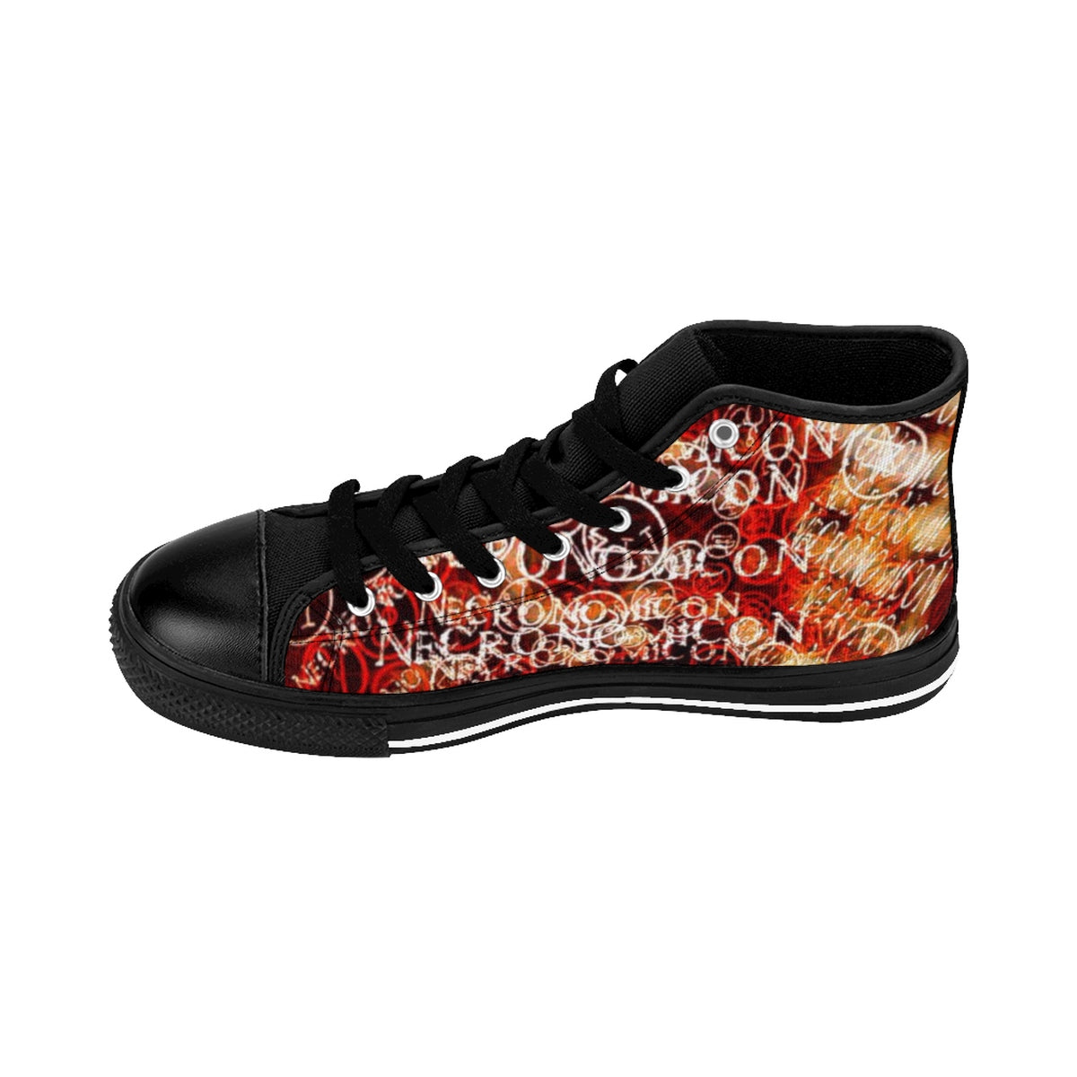 Lovecraft's Necronomicon Women's Sneakers-Starry Meadows