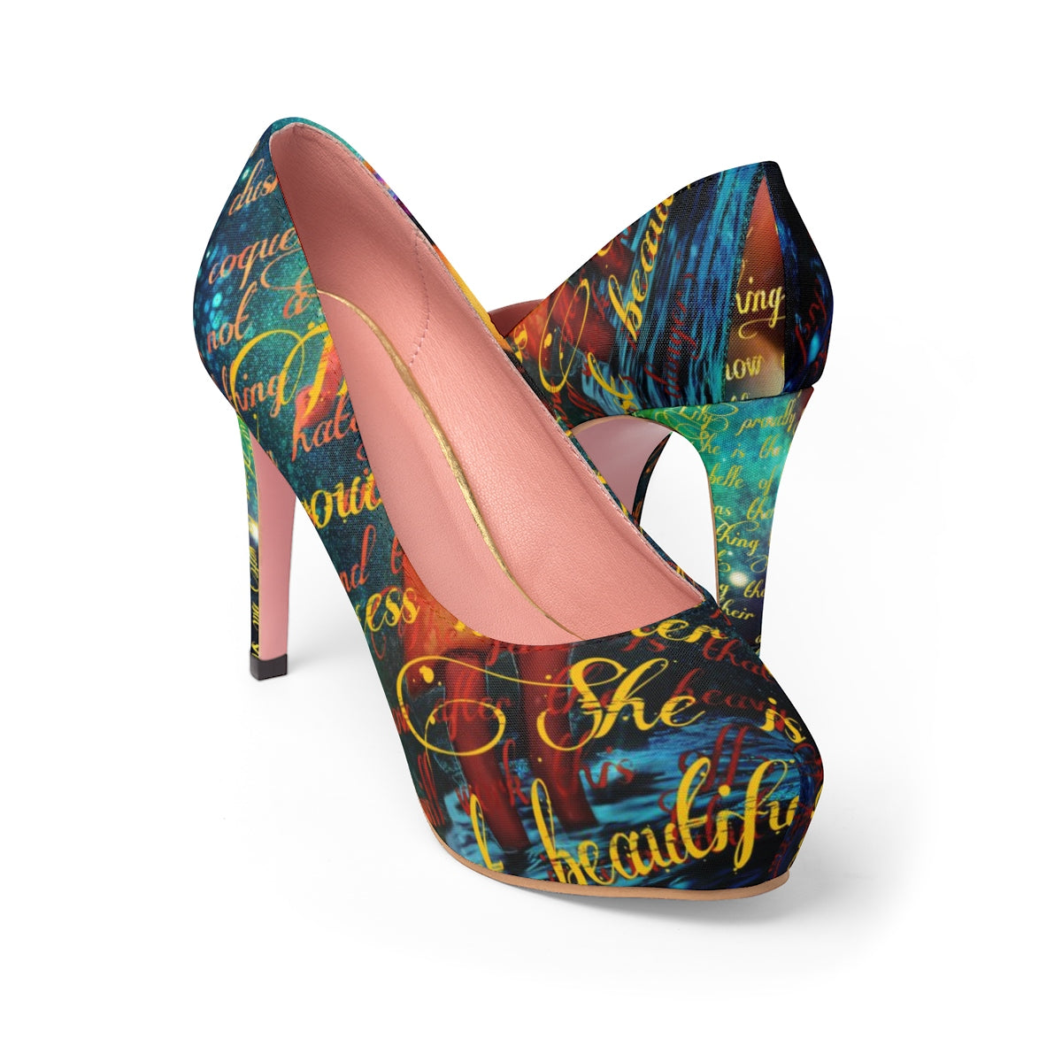 Tiger Lily Stiletto Pumps-Starry Meadows
