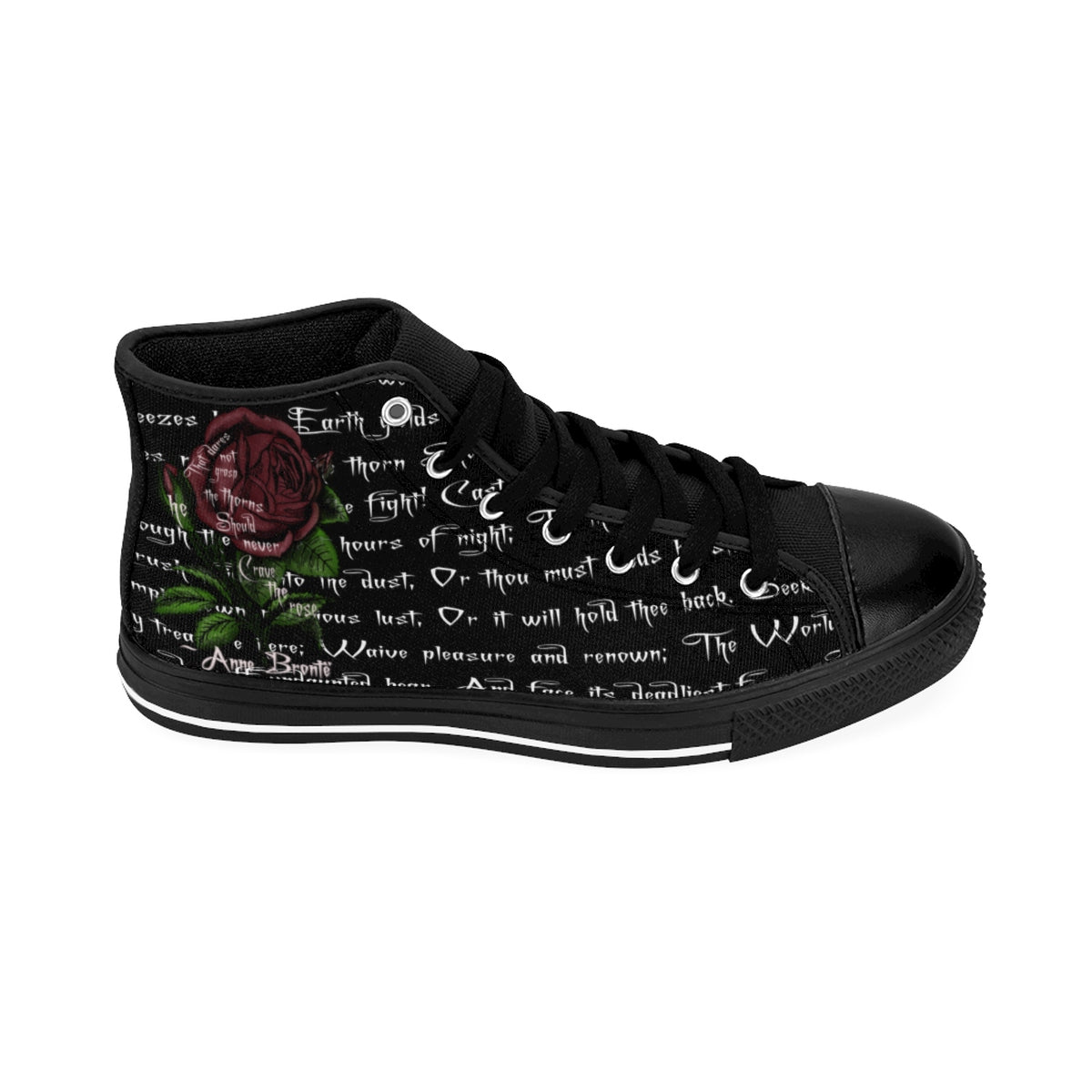 Grasp The Thorns Anne Brontë Women's Sneakers-Starry Meadows