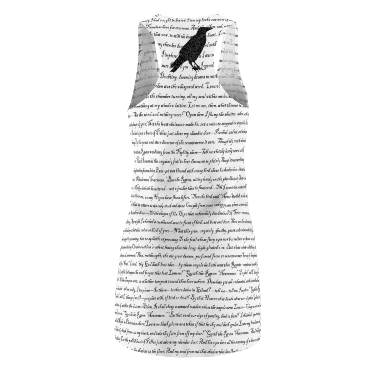 Edgar Allan Poe's The Raven Racerback Dress-Starry Meadows