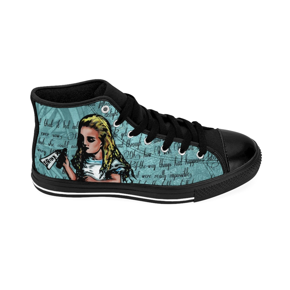 "Alice in Wonderlad ""Drink Me"" Women's Sneakers-Starry Meadows"