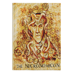 Lovecraft Necronomicon Hardcover Journal-Starry Meadows