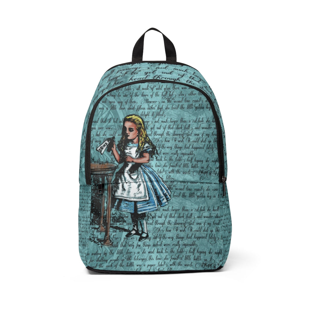 "Alice ""Drink Me"" Backpack-Starry Meadows"