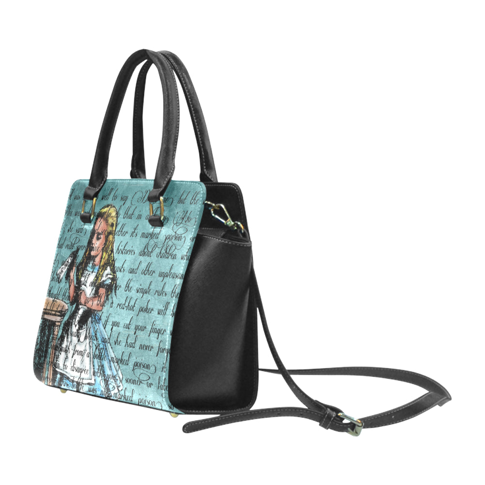 "Alice's ""Drink Me"" Studded Handbag-Starry Meadows"