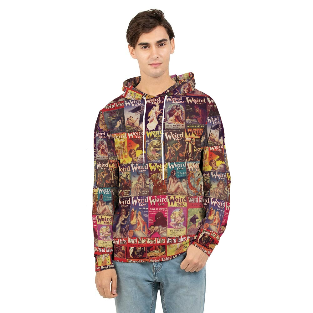 Weird Tales Men's Hoodie-Starry Meadows