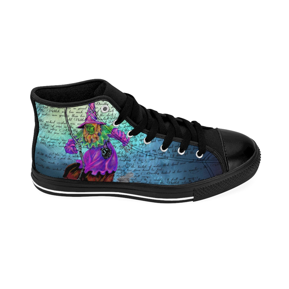 Wicked Witch of the West Men's Sneakers-Starry Meadows