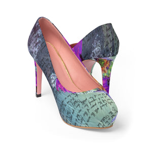 Wizard of Oz Wicked Witch Platform Heels-starry-meadows