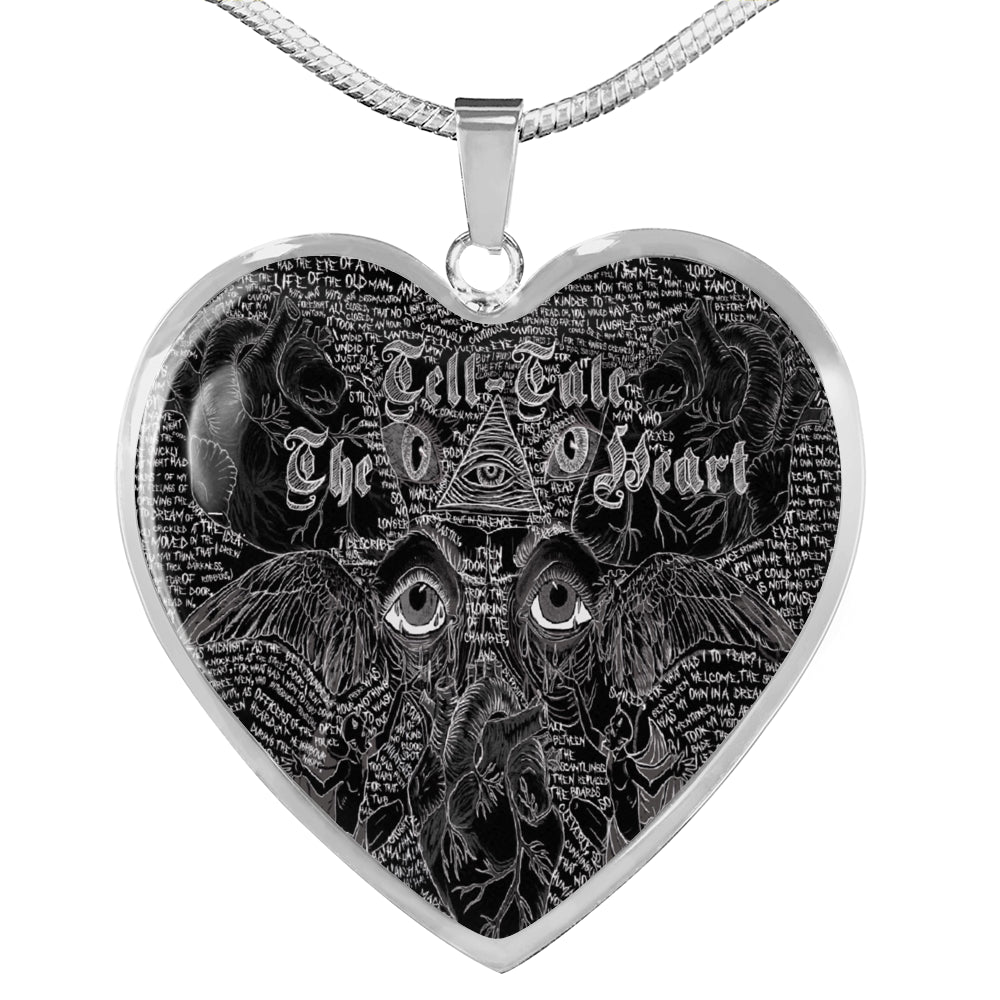 The Tell-Tale Heart Heart Pendant