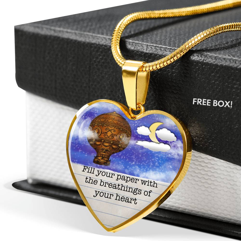 Breathings Of Your Heart, Heart Pendant