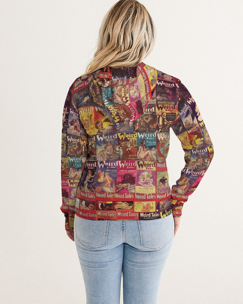 Weird Tales Women's Hoodie-Starry Meadows