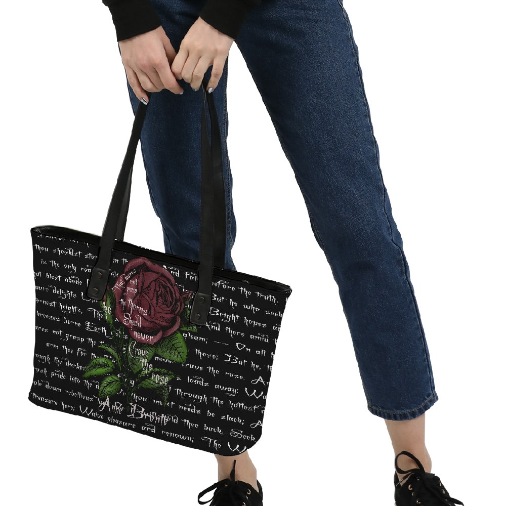 Grasp The Thorns Anne Brontë Stylish Tote-Starry Meadows