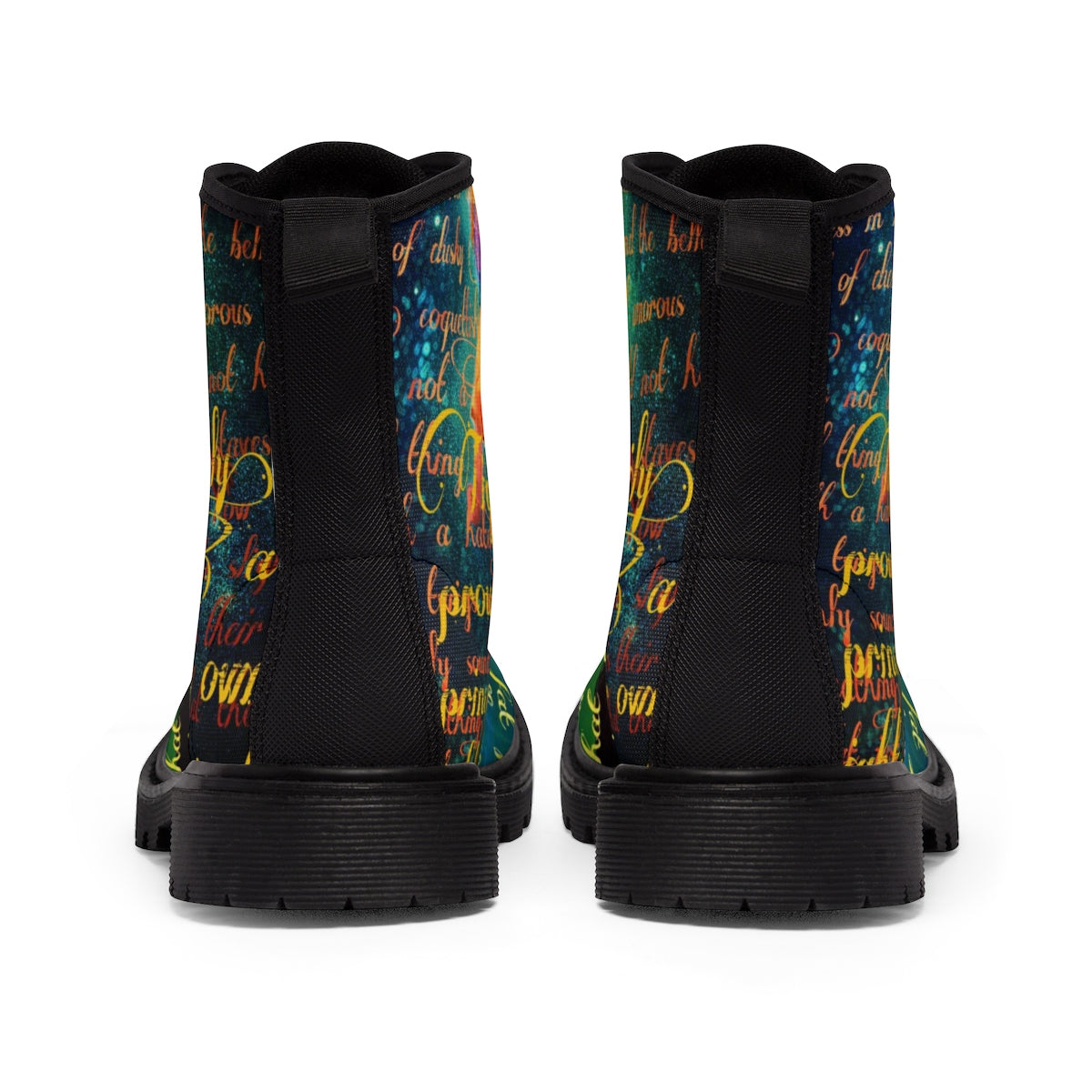 Tiger Lily Women's Canvas Boots-Starry Meadows